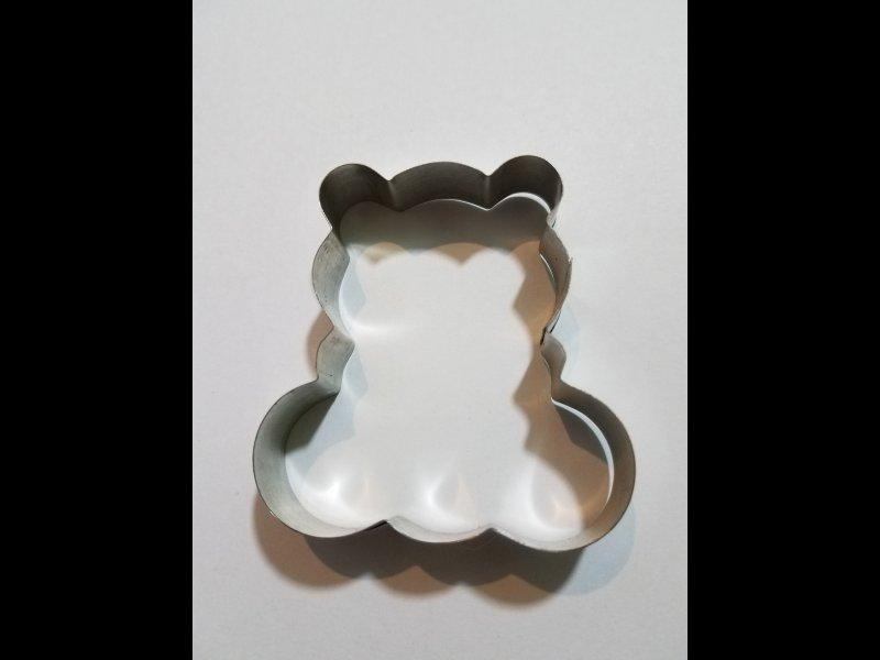 Osito para galletitas- 7 x 6.5 cm.
